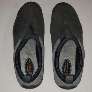 Merrill Active Heat Grey Leather Sz 8